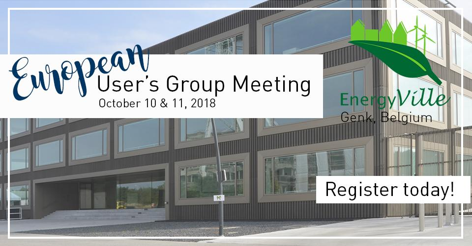 European User's Group Meeting