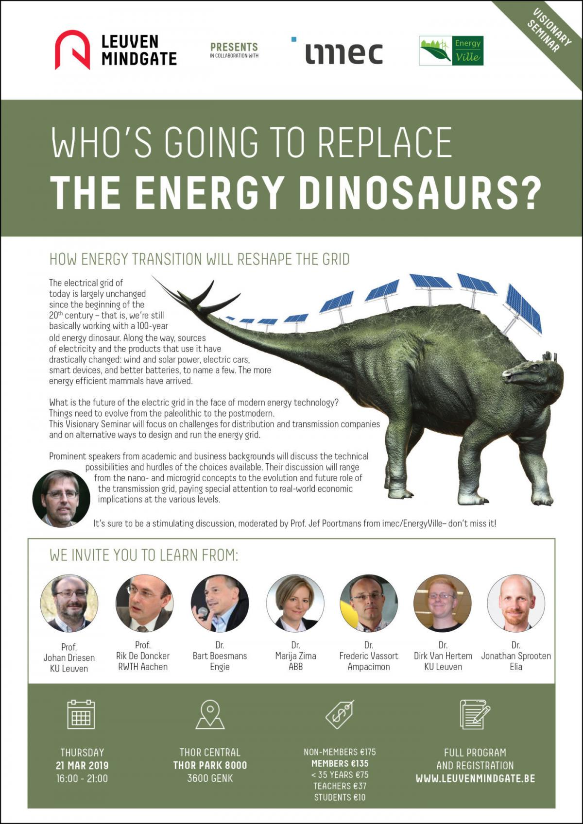 Who's going to replace the energy dinosaur